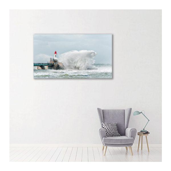 Polar Bear in the storm par Yvon HAZE
