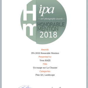 MENTIONHONORABLE IPA 2018