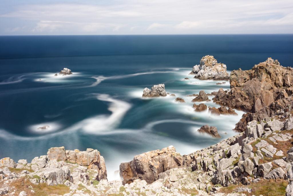 Pointe du Van Filtre Polarisant et ND64000 par Yvon HAZE
