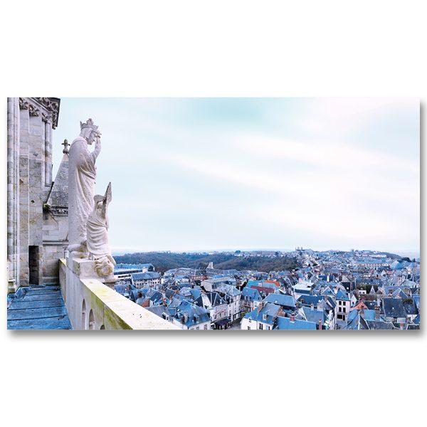 Notre-Dame veille sur Laon par Yvon HAZE