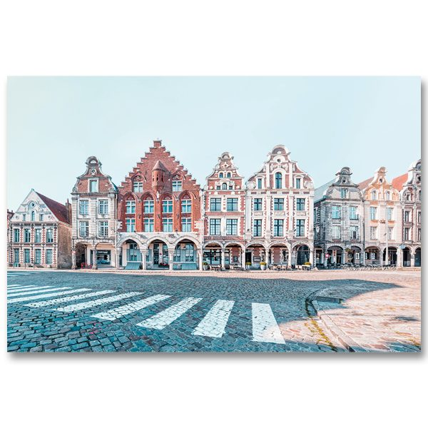 Les Trois Luppars à Arras par Yvon HAZE