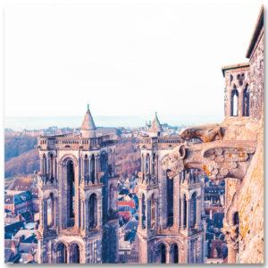 2 Gargouilles de Notre-Dame de Laon par Yvon HAZE