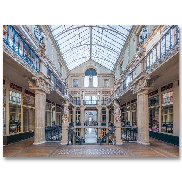 Le Passage Pommeraye III à Nantes par Yvon HAZE