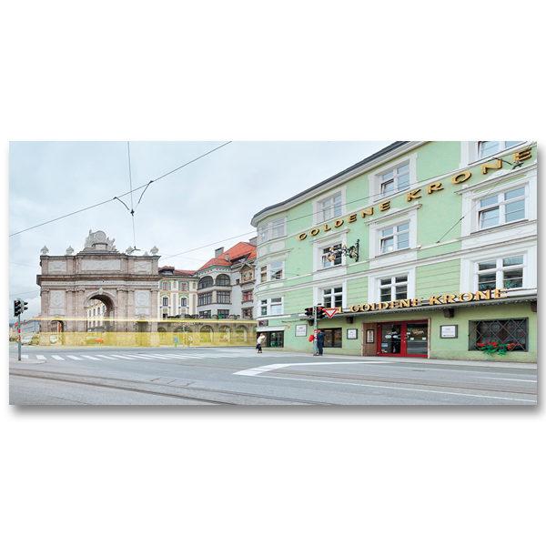 Triumphpforte Innsbruck par Yvon HAZE