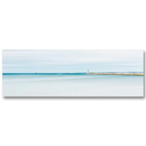 La digue et le phare du Tréhic II par Yvon HAZE