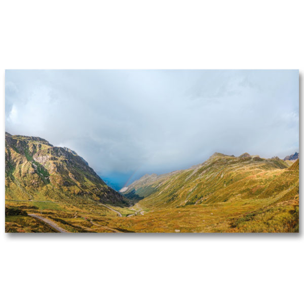La route alpine de la Silvretta par Yvon HAZE