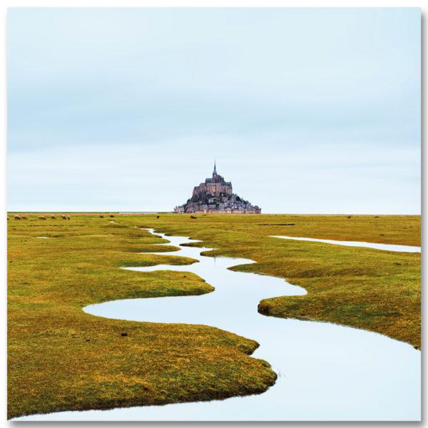 Les serpentins du Mont St Michel I par Yvon HAZE