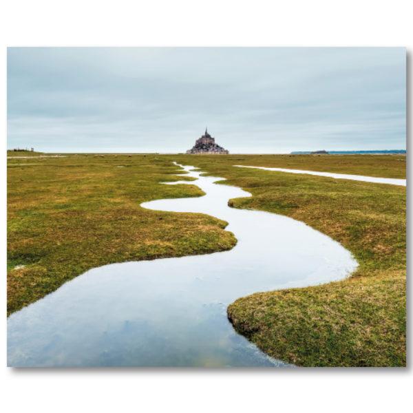 Les serpentins du Mont St Michel II par Yvon HAZE