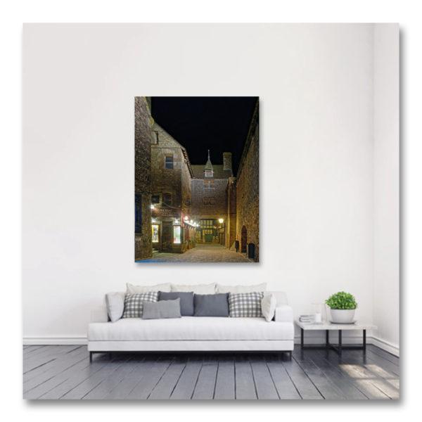 Une nuit au Mont St Michel I par Yvon HAZE