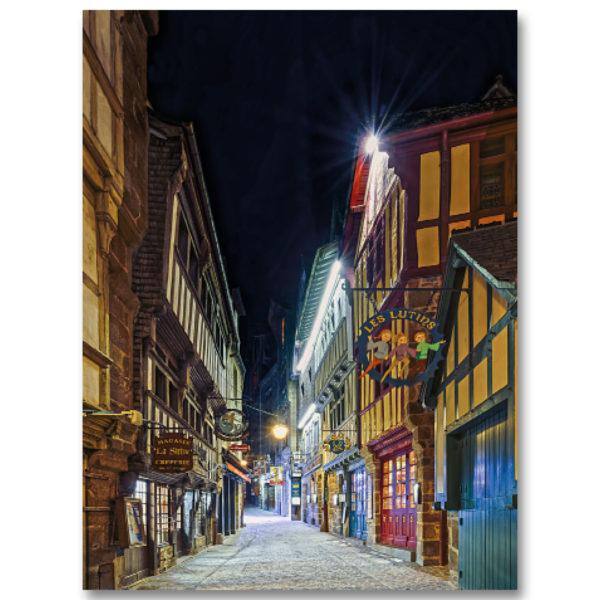 Une nuit au Mont St Michel II par Yvon HAZE