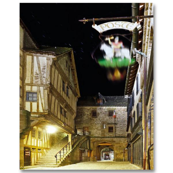 Une nuit au Mont St Michel III par Yvon HAZE