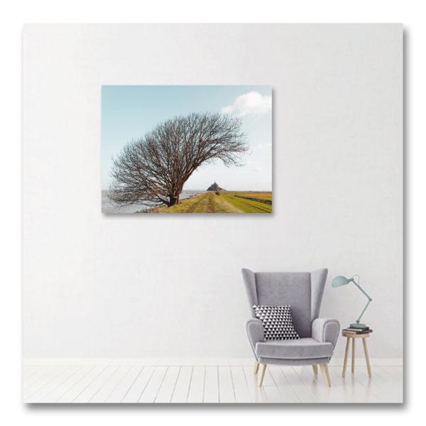 Le Parasol du Mont Sainr Michel par Yvon HAZE
