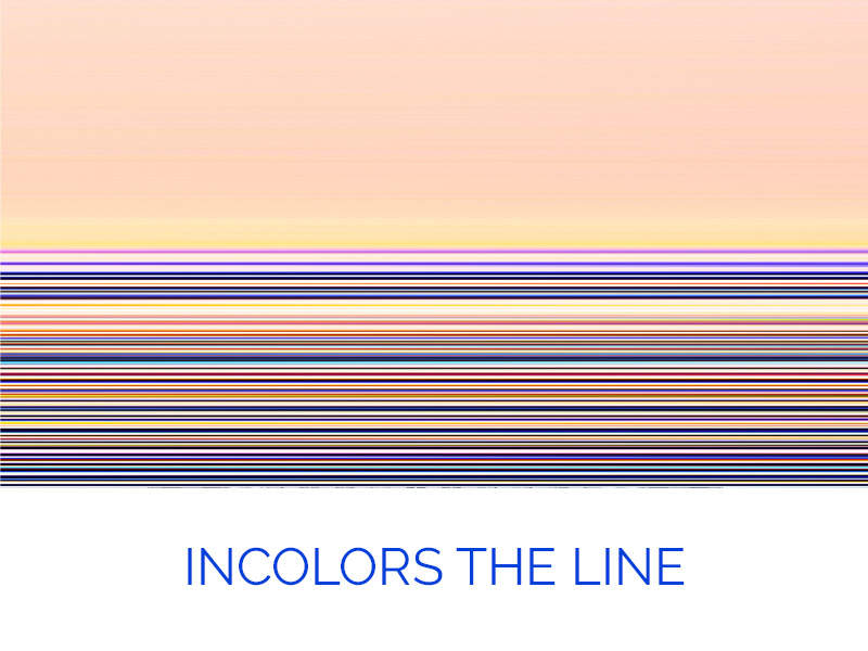 InColors the Line par Yvon HAZE