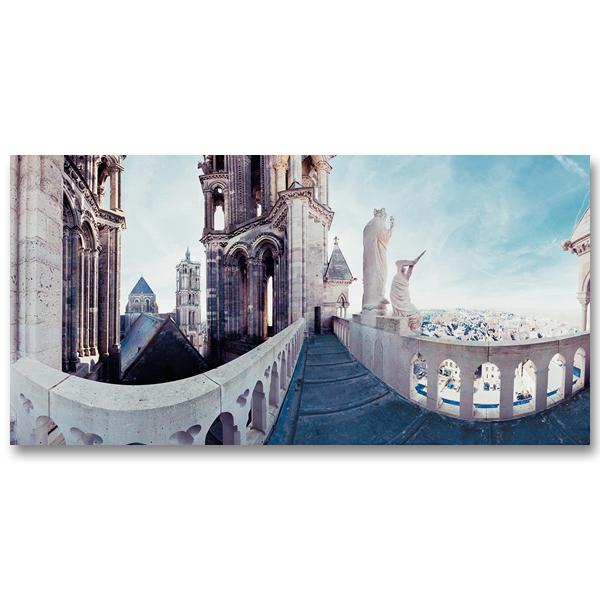 Cathédrale Notre-Dame de Laon par Yvon HAZE