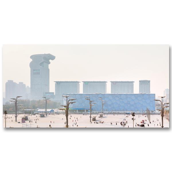 La tour IBM dite The Dragon Tower à Pangu Plaza Pekin par Yvon HAZE