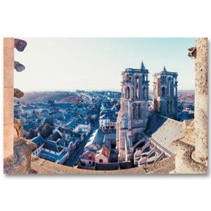 La ville de Laon de la cathédrale Notre-Dame de Laon par Yvon HAZE