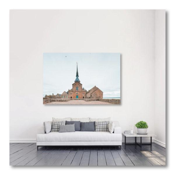 En Haut du Mont St Michel par Yvon HAZE