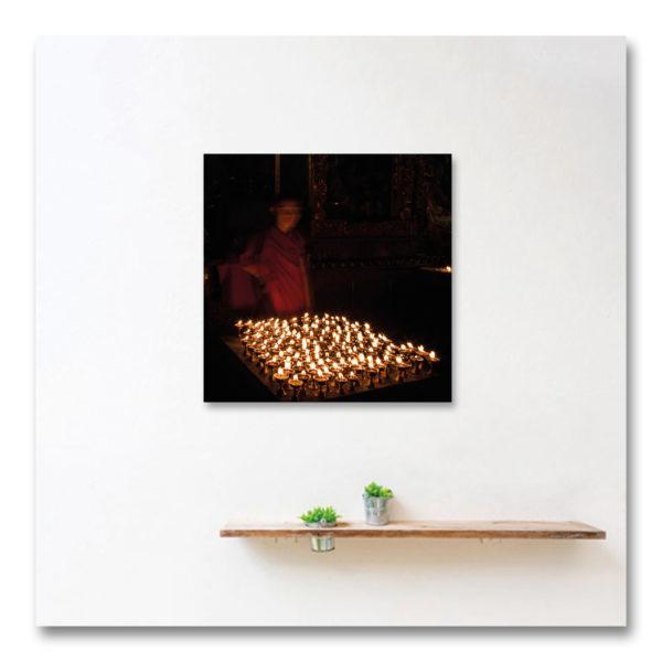 Meditation lights I par Yvon HAZE